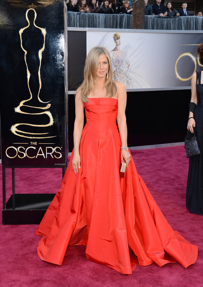 Jennifer Aniston Oscar dress