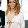 Rihanna chanel fashion show 2014 chanel front row paris