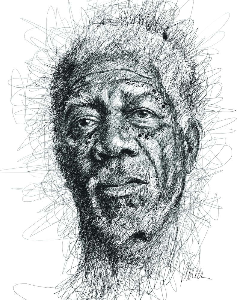 Vince Low Pays Homage To Famous Dyslexics With Realistic