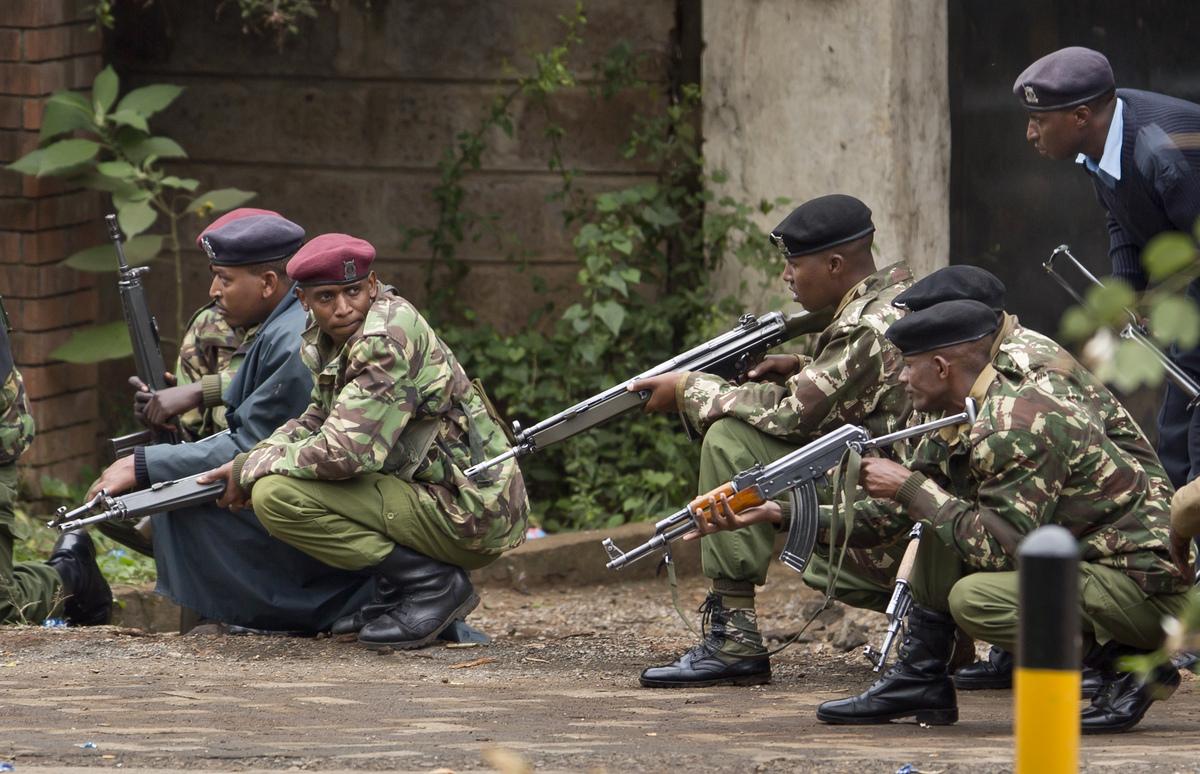 Nairobi Mall Attack.