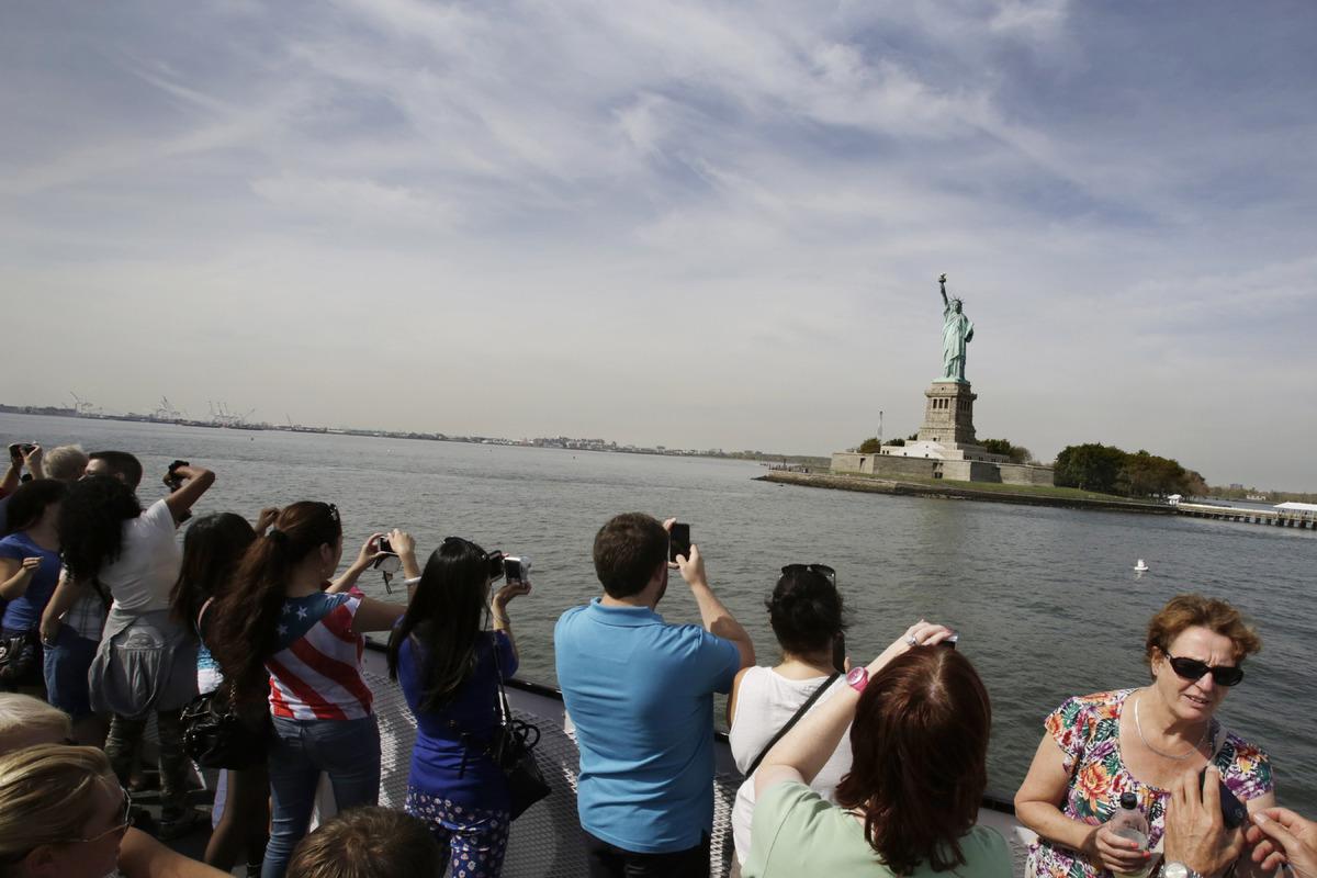 Statute of Liberty shutdown.