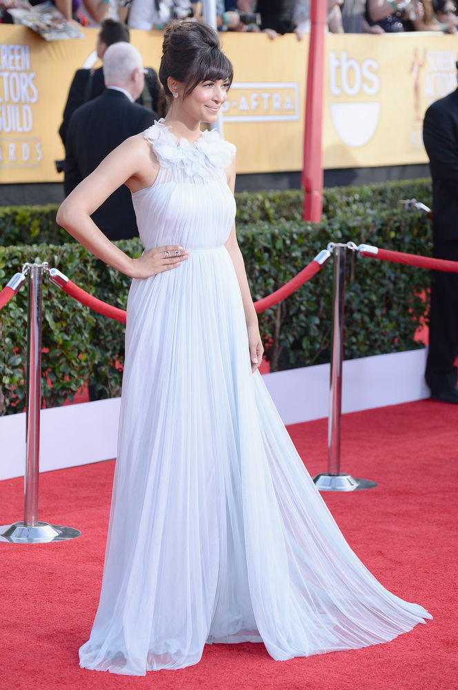 Hannah Simone | SAG Awards Best Dressed | The 1000th Voice