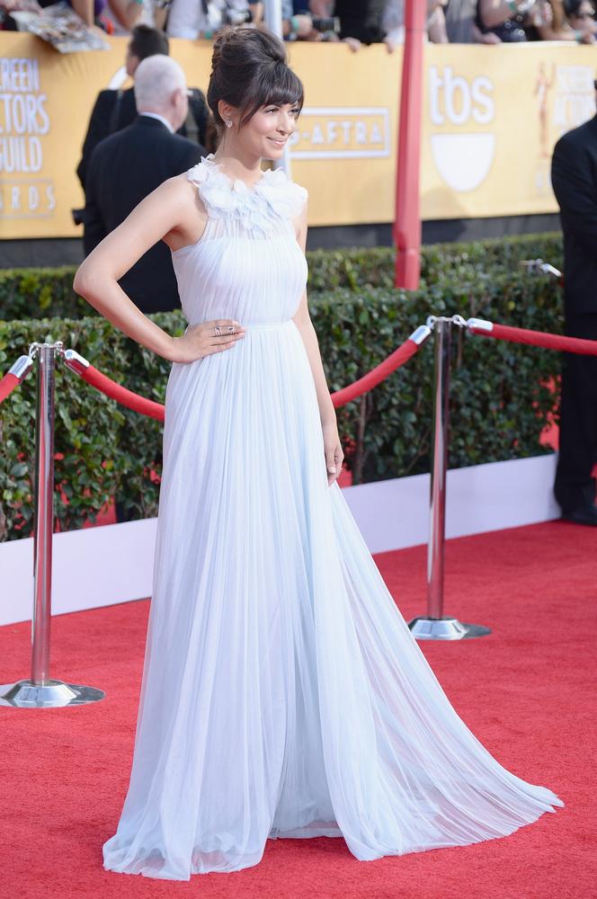 Hannah Simone | SAG Awards Best Dressed | The 1000th Voice