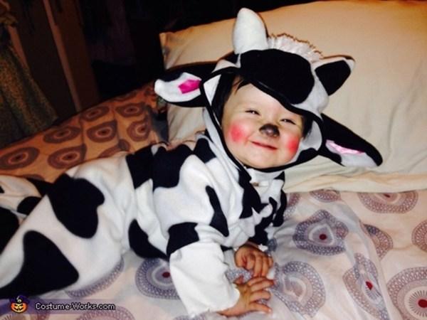 Baby Cow Halloween Costume