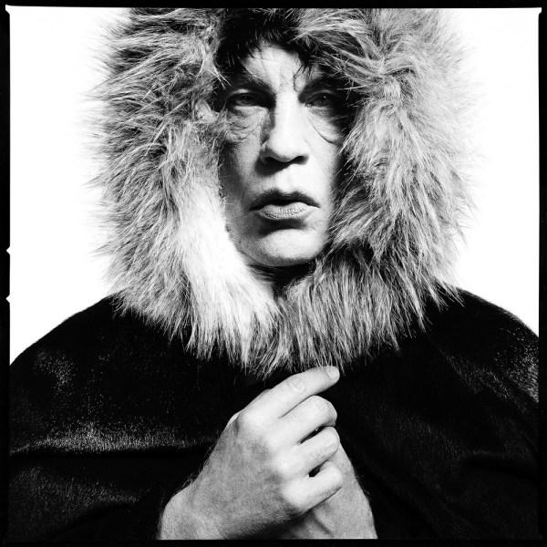 Mick Jagger David Bailey 'Fur Hood'