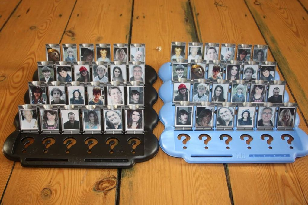 Wedding Idea-personalized guess who games