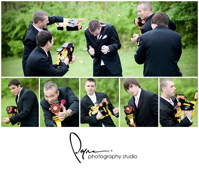 Fun Wedding Idea-nerf guns