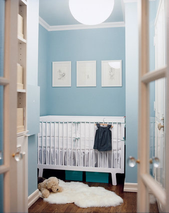 Comment transformer un garderobe en chambre denfant PHOTOS
