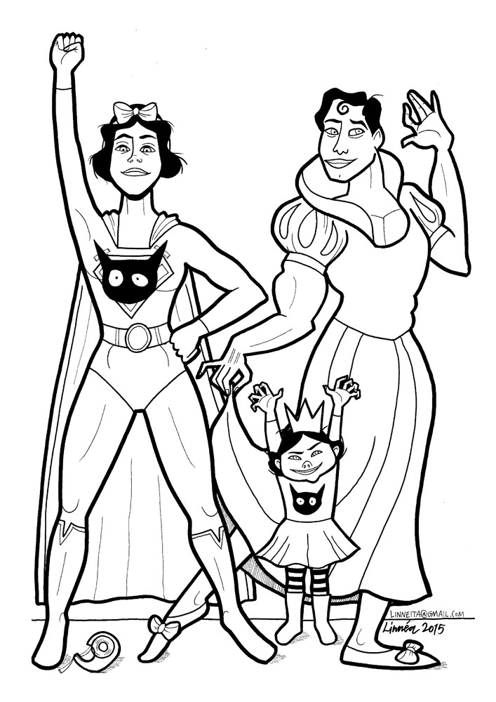 Mom's 'Super-Soft Heroes' Coloring Book Shows Little Boys