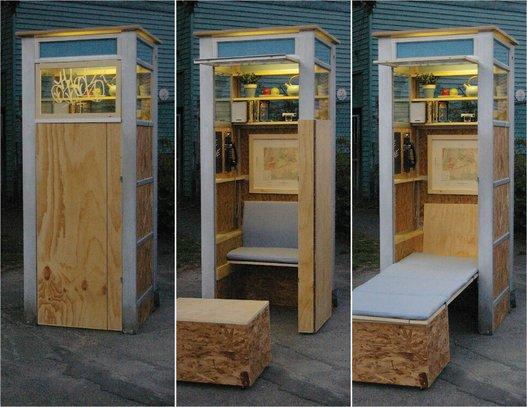 cabine t l phonique nuage ciel d 39 azur. Black Bedroom Furniture Sets. Home Design Ideas