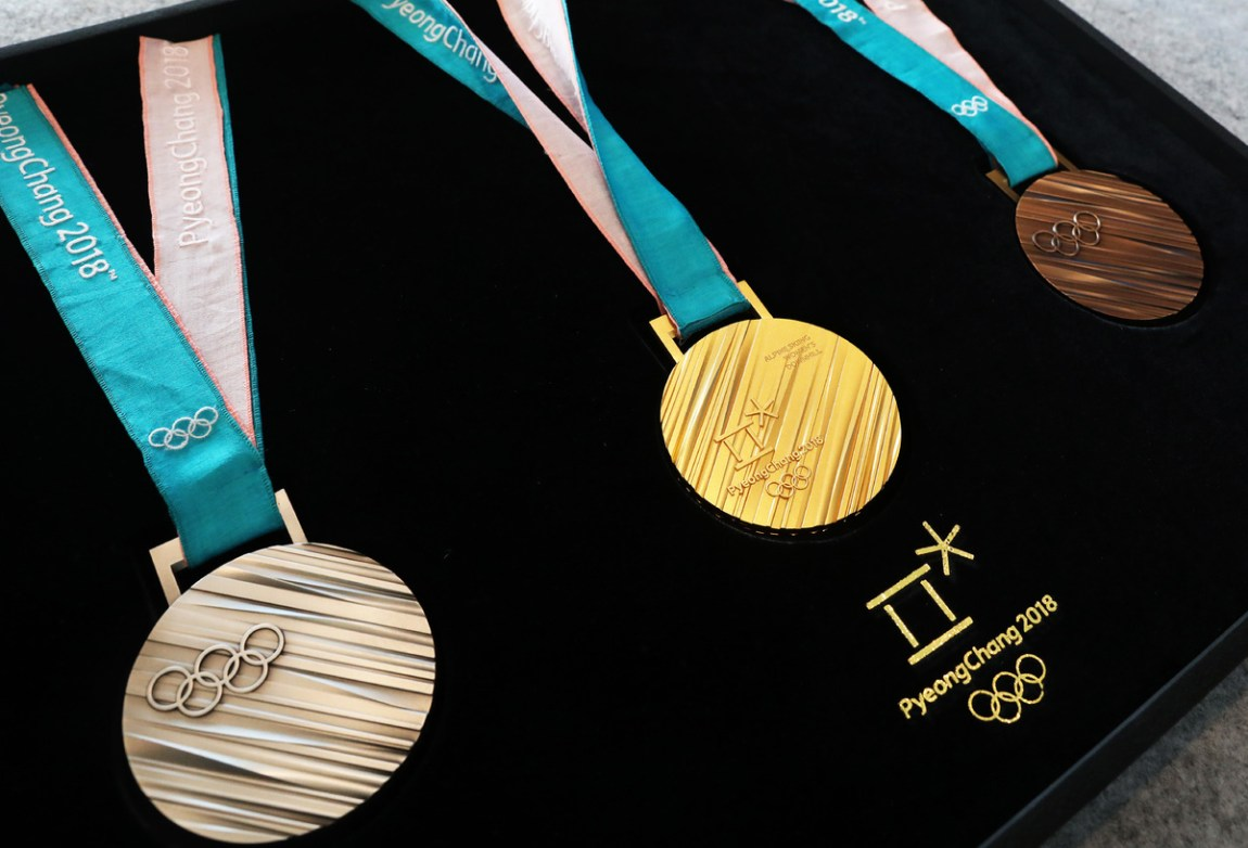 Medals show Korean heritage, nature