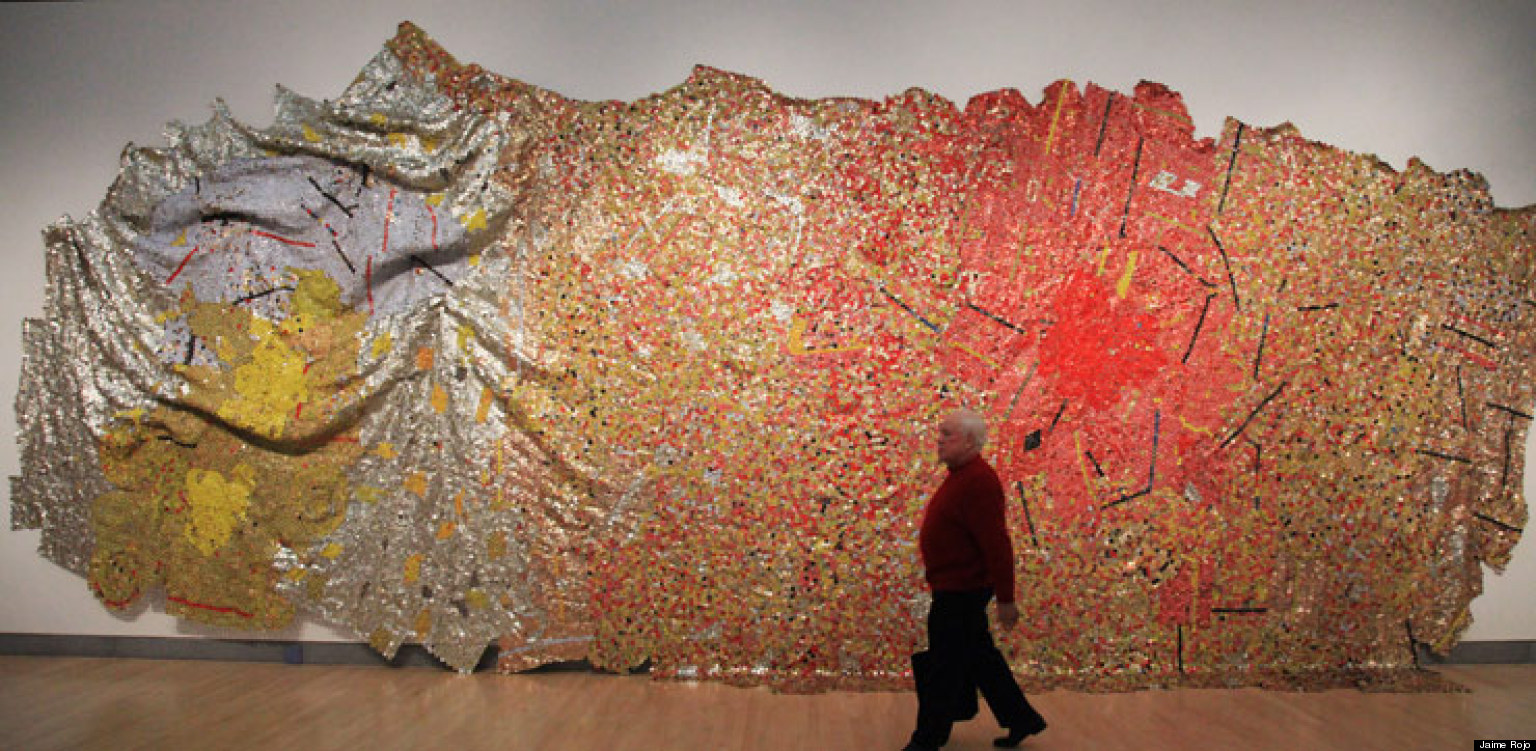 El Anatsui Shows Both Gravity and Grace in New York