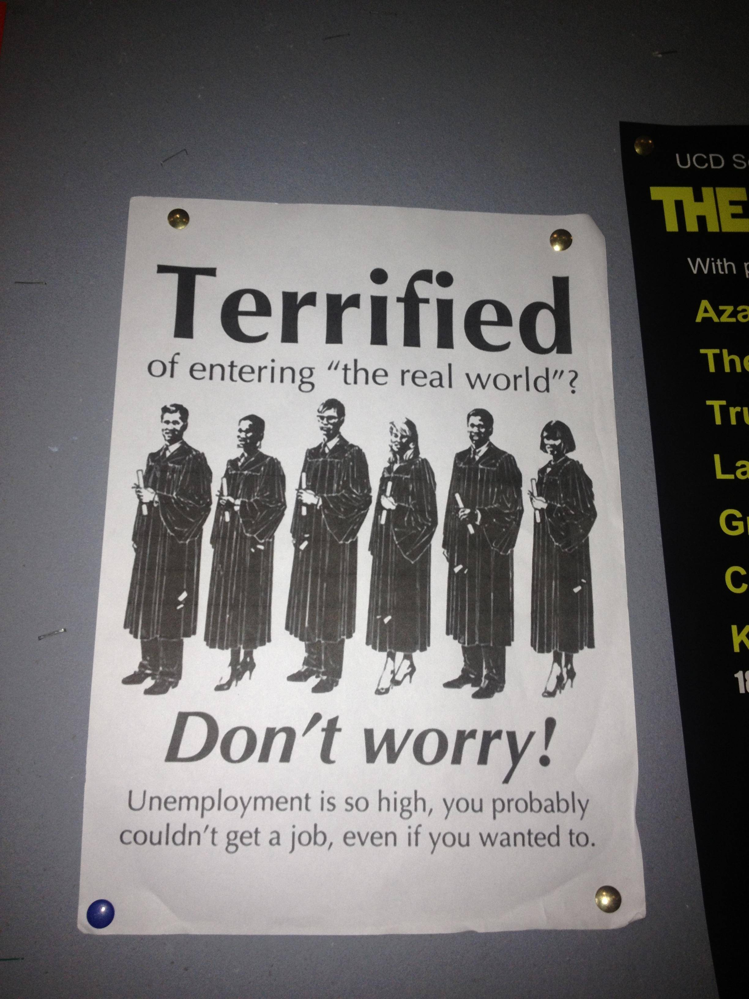 This Sarcastic Poster Is A Bit Too Real To Be Funny PHOTO
