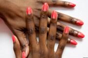 shaped nail art love