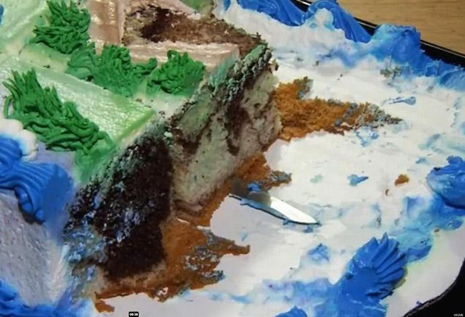 Knife In Walmart Cake Cayden Bibeau 2 Finds Weapon In