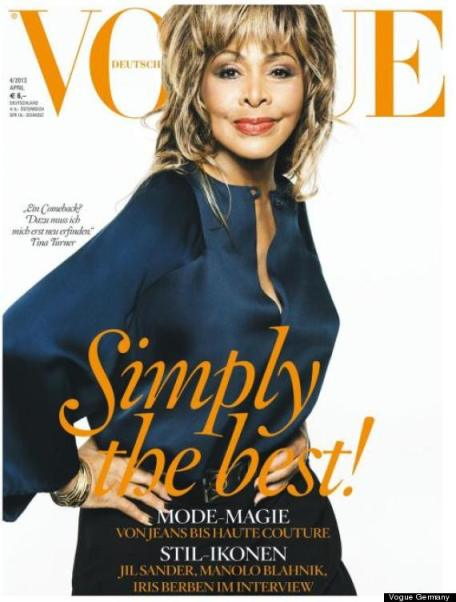 tina turner vogue cover