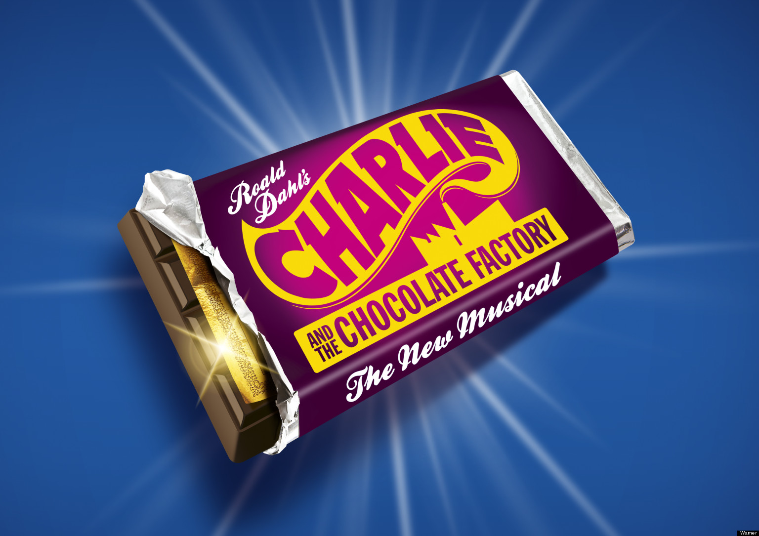 Exclusive Charlie And The Chocolate Factory Musical