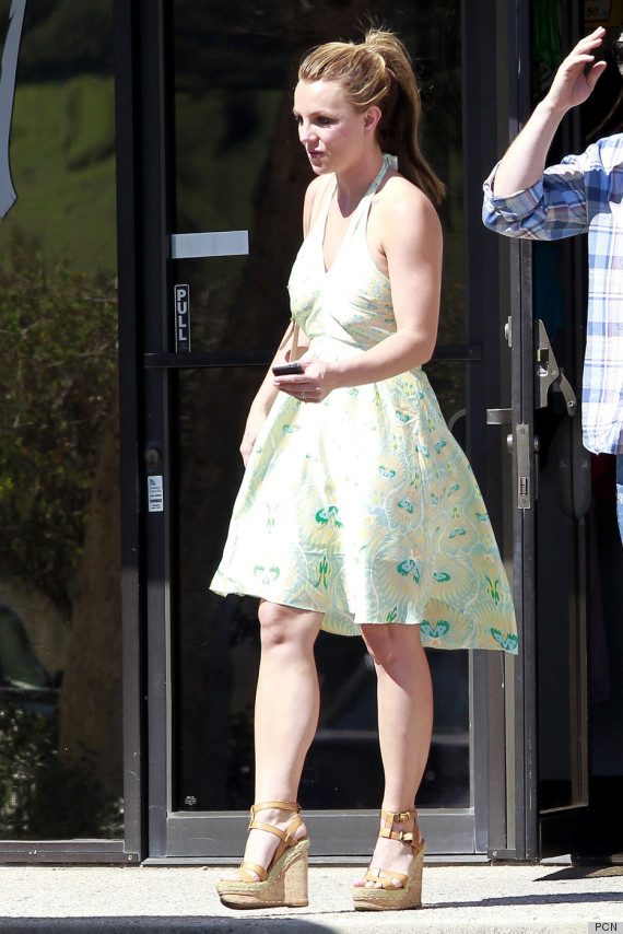 Britney Spears Sundress Gets Us In The Mood For Spring