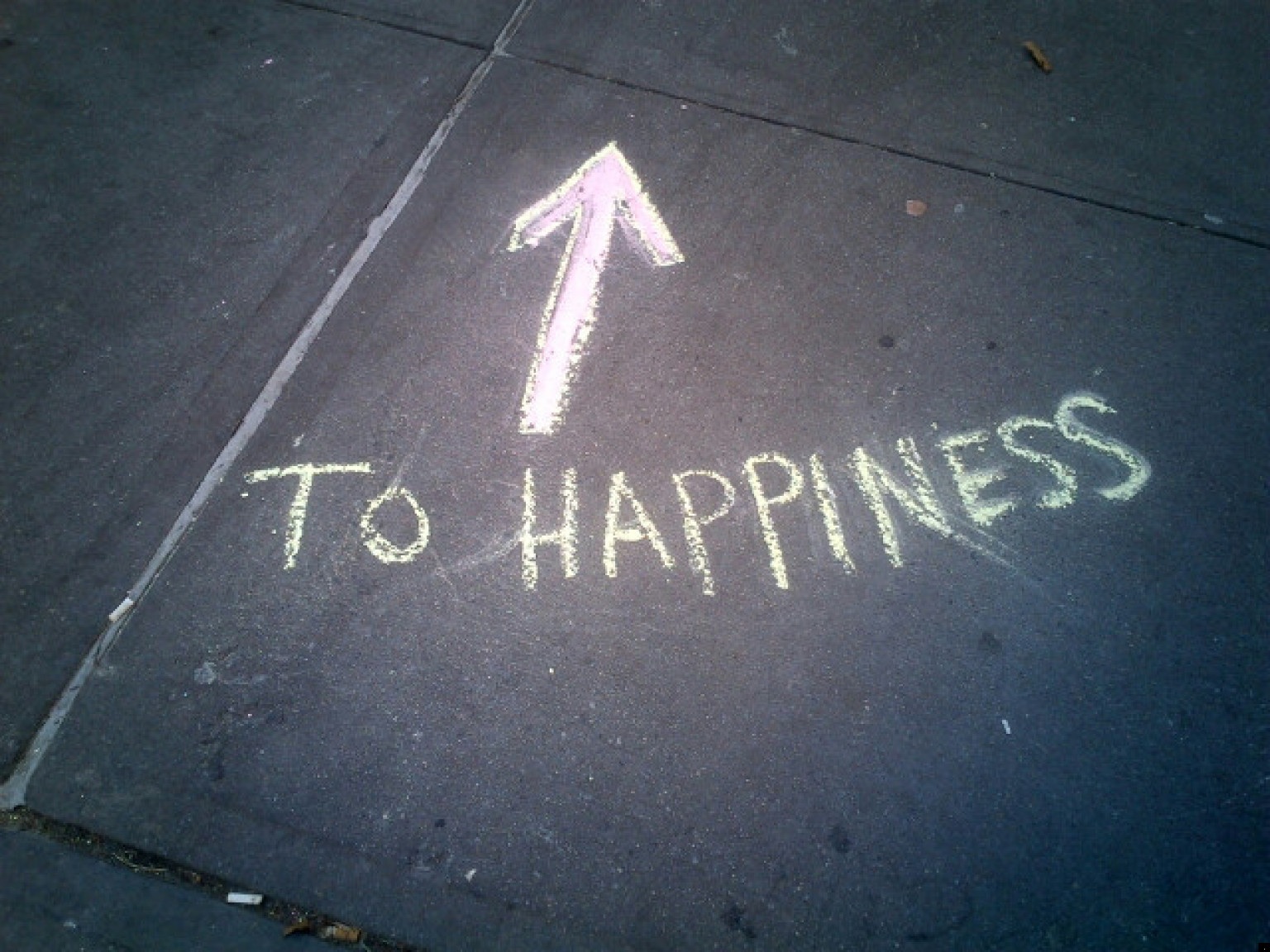 Happiness Images In Sidewalk Art Stickers Magnets And