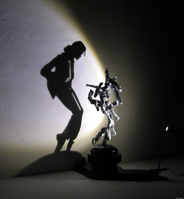 Shadow Art Made From Trash Shows Diet Wiegman At His Best