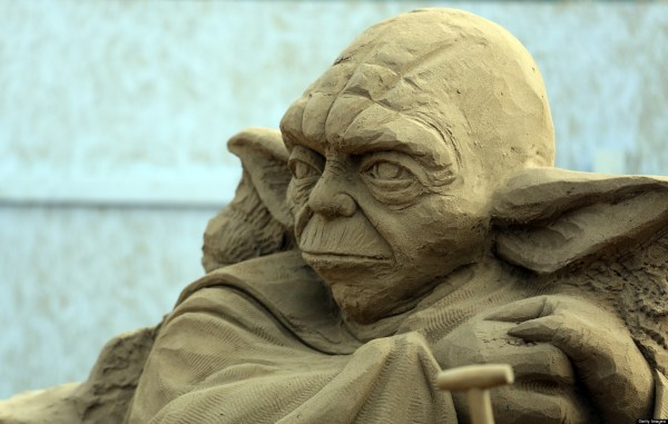 Sand Sculptures Weston Super Mare 2013 Grainy Gollum
