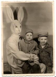 Creepy Vintage Easter Bunny Stuff Of Nightmares