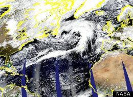 Atlantic Ocean Storm 2013