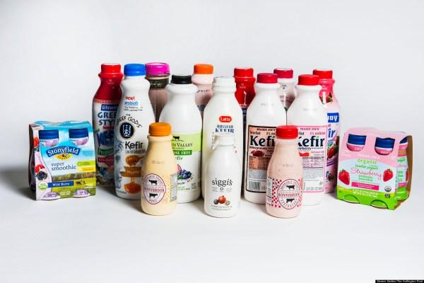 Drinking Yogurt Taste Test The Best And The Worst PHOTOS