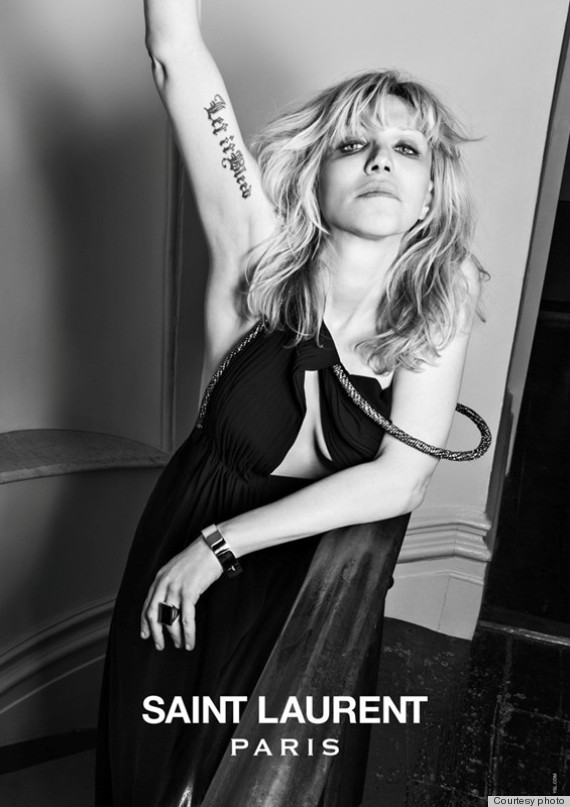 courtney love saint laurent