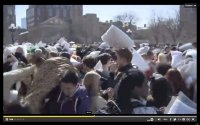 National Pillow Fight Day 2013 Comes To NYC's Washington