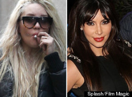 Amanda Bynes Kim Kardashian