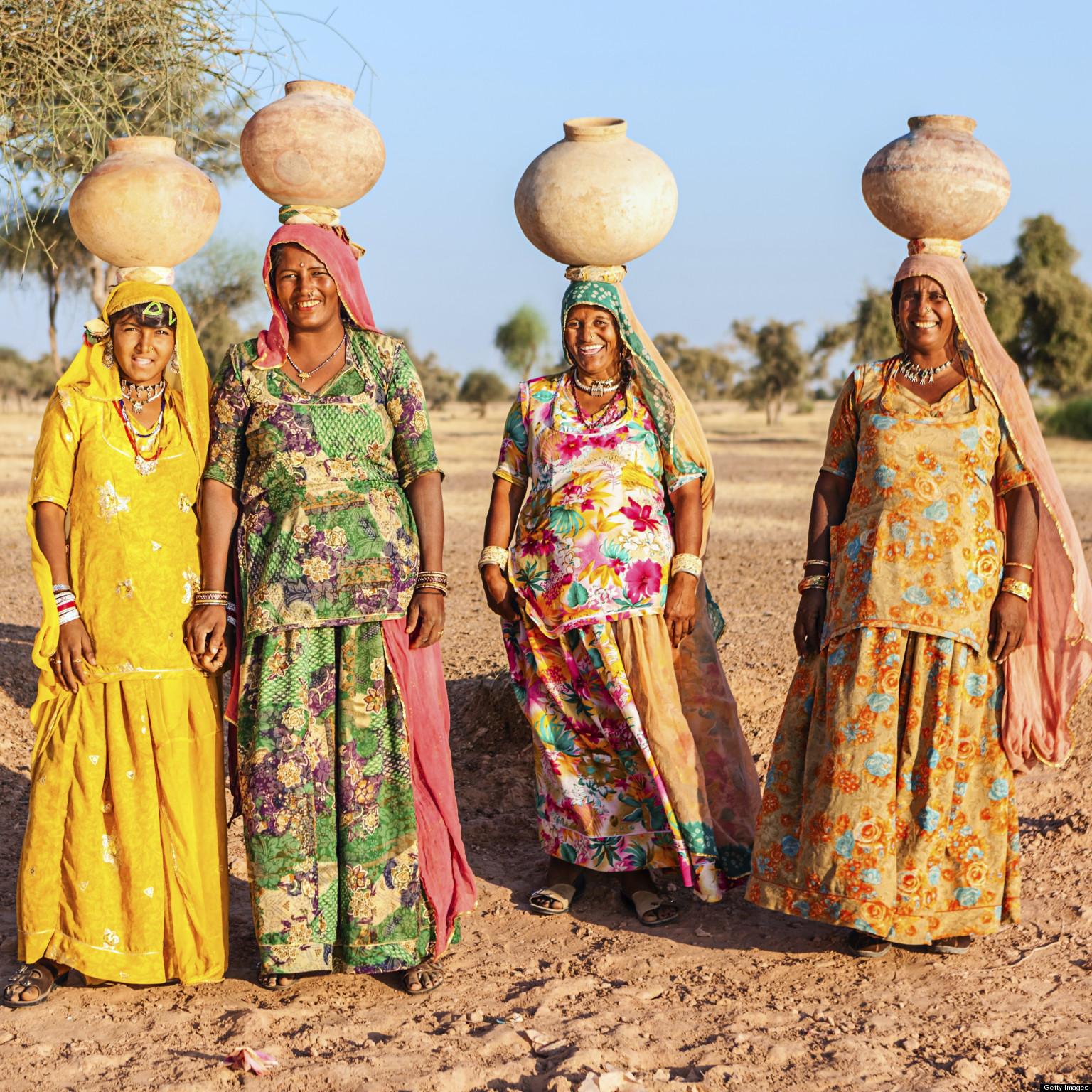 Africa Villages Black
