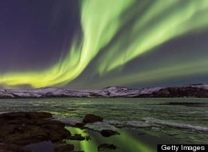 Interactive Aurora Borealis