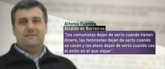 Alfonso Fuentes, un alcalde del PP: