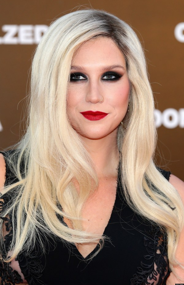Kesha Red Lipstick