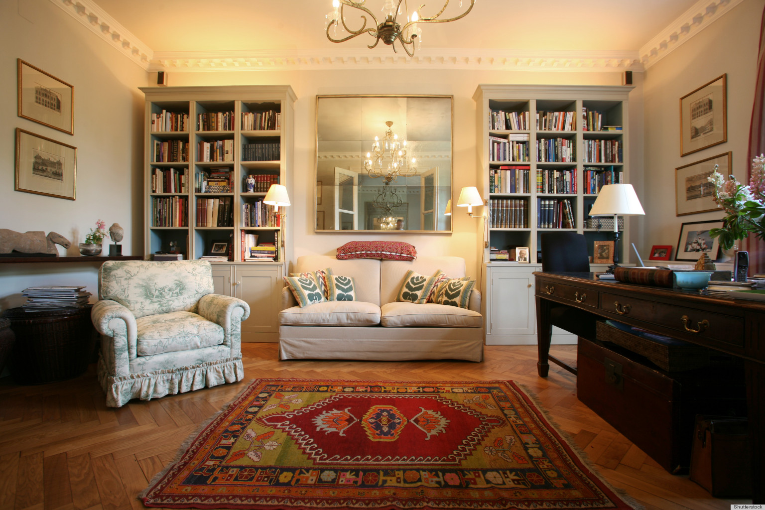 How Decorating With Books Personalizes A Home  HuffPost