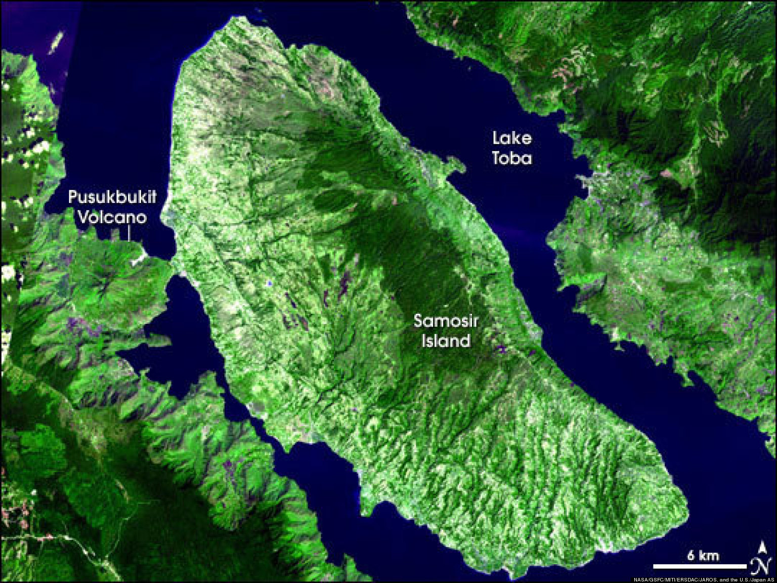 Supervolcano Eruption On Mount Toba Didn T Cause Humans