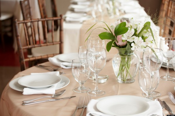 Table Setting for Dinner Parties