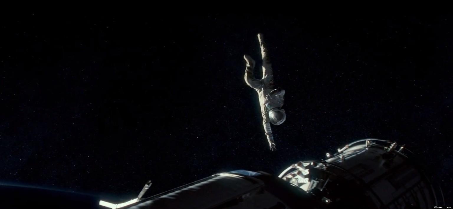 Gravity Trailer With Sandra Bullock  George Clooney