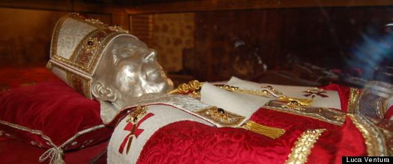 Celestine V Pope Skeleton