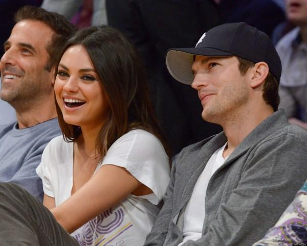 Mila Kunis Ashton Kutcher Double Dinner Date With Princess Beatrice And Boyfriend Dave