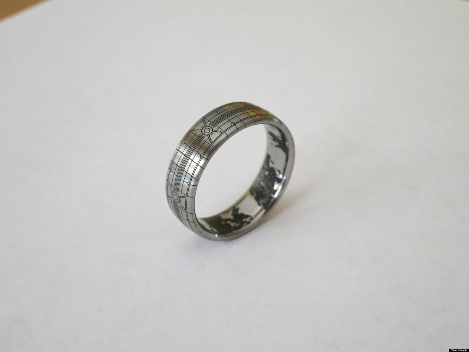 Halo Wedding Ring Superfan Designs HaloThemed Band