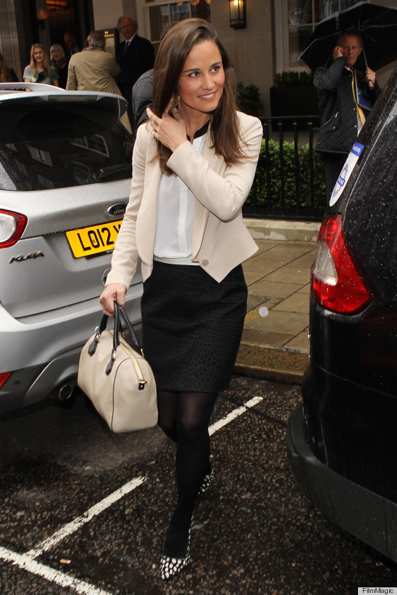 Pippa Middletons Shoes Add A Punch Of Fun To Lunch Outfit