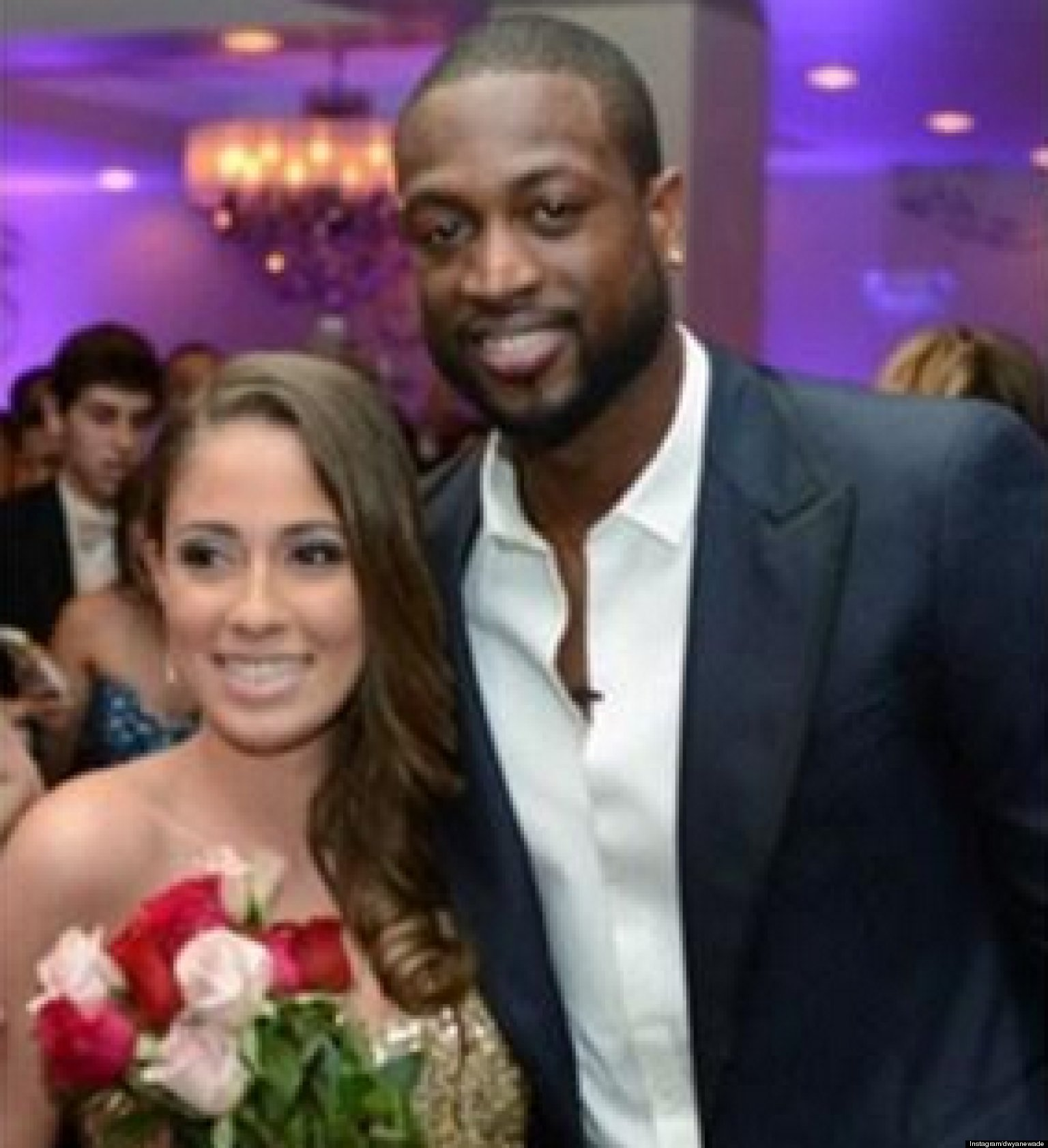 Dwyane Wade Attends Prom With Miamis Nicole Muxo VIDEO