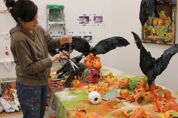 Brooklyn Artist Valerie Hegarty Creates Installations In