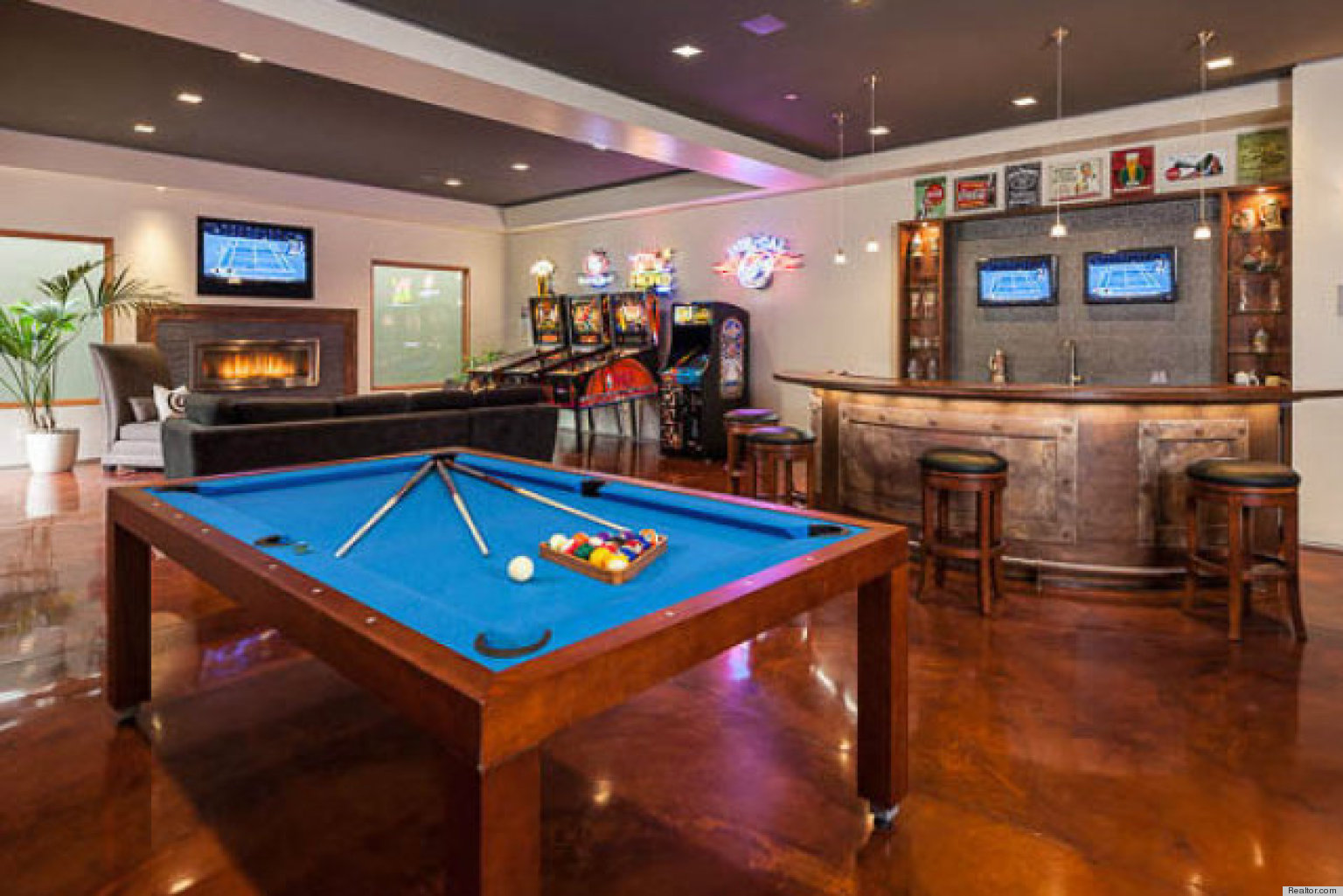 10 Stunning Home Bars That Are Always Ready For Guests PHOTOS  HuffPost