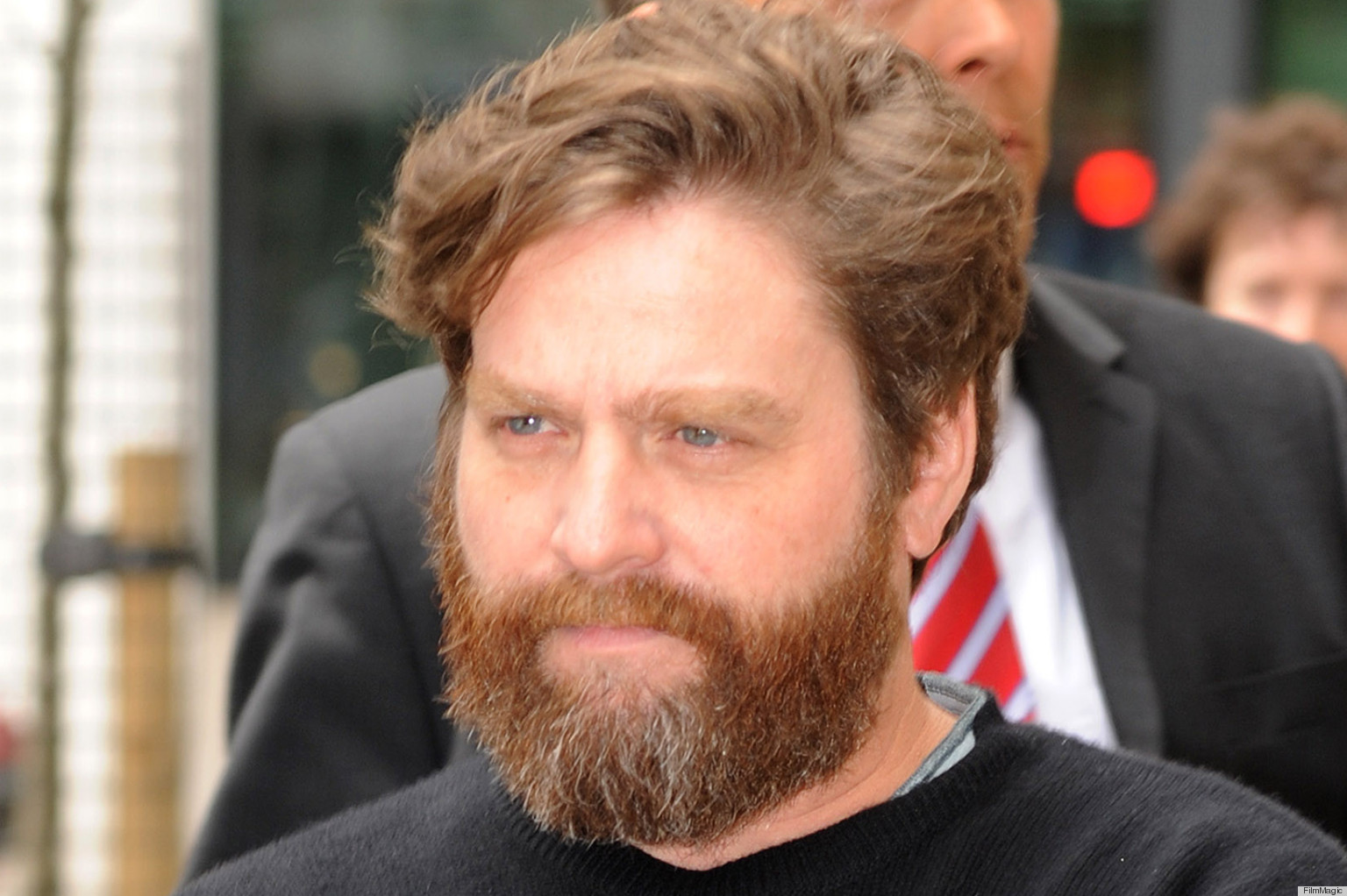 Galifianakis' Goatee Catches Everyone By Surprise (PHOTOS)   HuffPost