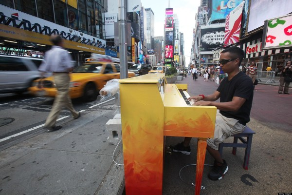 City Songs History Of Street Piano Huffpost