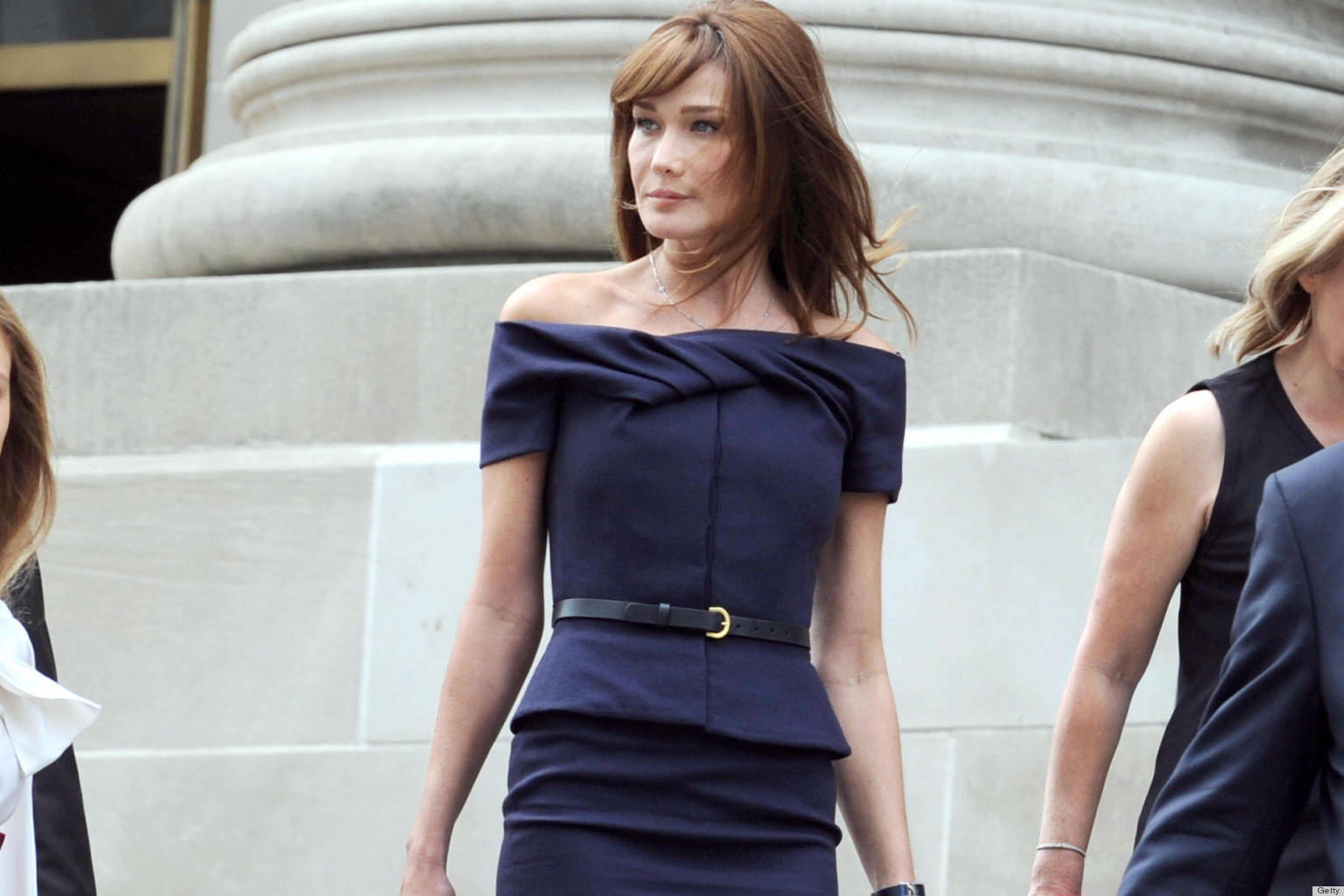 Carla Bruni First Lady Dressing Was Actually A Pleasure