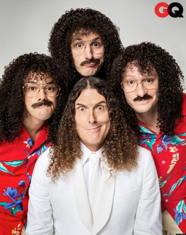 'weird Al' Yankovic & Lonely Island Team Gq Comedy Issue Video Huffpost